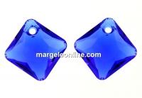 Swarovski, pandantiv Princess cut, majestic blue, 11.5mm - x1