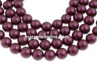 Perle Swarovski, elderberry, 12mm - x10