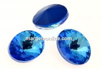 Swarovski, oval fancy, Royal Blue DeLite, 8x6mm - x4