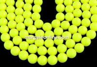 Perle Swarovski, neon yellow, 14mm - x2