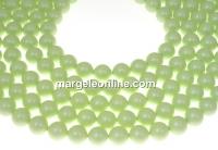 Swarovski pearls, pastel green, 14mm - x2