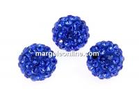 Swarovski, margele pave, majestic blue, 6mm - x1