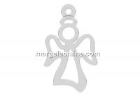 Pandantiv argint 925, ingeras, 17mm  - x1