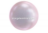 Perle Swarovski cu un orificiu, iridescent dreamy rose, 8mm - x2