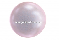 Swarovski pearl, iridescent dreamy rose, 6mm - x100
