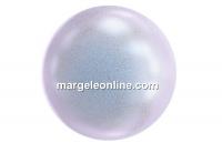 Swarovski pearl, iridescent dreamy blue, 8mm - x50