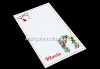 Carton martisor, potcoava, 9.2x5.4cm- x50