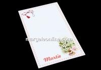 Carton martisor, lacramioare, 9.2x5.4cm- x50