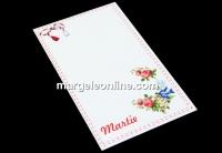 Carton martisor, randunica, 9.2x5.4cm- x50