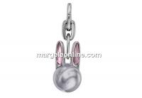 Swarovski, breloc Bubbly Bunny, lavander pearl, 22.5mm - x1