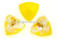 Swarovski, f. rivoli kaleidoscope triangle, sunshine DeLite, 9mm - x1