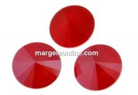 Swarovski, rivoli, royal red, 8mm - x2