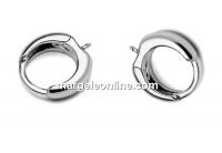 Earring findings,925 silver, 14mm - x1pair