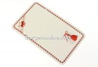 Carton martisor, canafi, 9x5.5cm- x50
