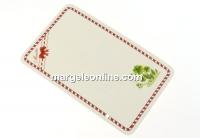 Carton martisor, trifoi, 9x5.5cm- x50