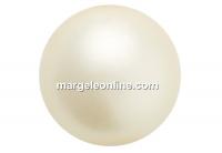 Preciosa pearl, cream, 6mm - x100