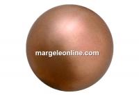 Preciosa pearl, bronze, 12mm - x10