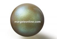 Preciosa pearl, pearlescent khaki, 12mm - x10