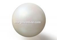 Preciosa pearl, pearlescent cream, 10mm - x20