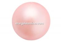 Preciosa pearl, peach, 10mm - x20
