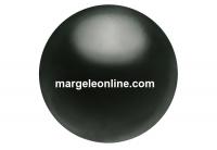 Preciosa pearl, magic black, 12mm - x10