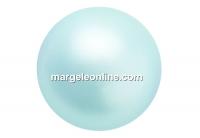 Preciosa pearl, light blue, 8mm - x50