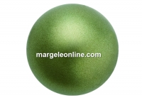 Preciosa pearl, dark green, 10mm - x20