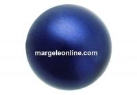 Preciosa pearl, dark blue, 4mm - x100