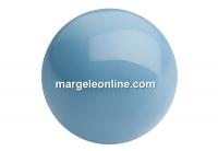 Preciosa pearl, aqua blue, 8mm - x50