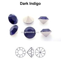 Preciosa chaton, dark indigo, 8mm - x2