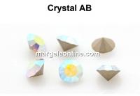 Preciosa chaton PP10, aurore boreale, 1.6mm - x40