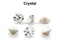 Preciosa chaton PP21, crystal, 2.7mm - x40