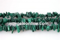 Green malachite - chips - malahit verde, 87cm