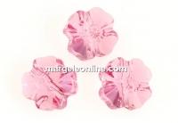 Swarovski, margele trifoi, light rose, 8mm - x2