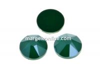 Swarovski rhinestone ss12, royal green, 3mm - x20
