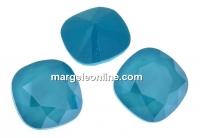 Swarovski, fancy square, azure blue, 10mm - x1