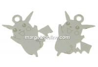 Pandantiv pokemon argint 925, 13mm  - x1