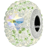 Swarovski, becharmed pave aurore boreale daisy, 14.5mm - x1