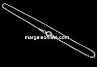 Bratara zale ovale, argint 925, 19cm - x1