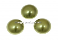Swarovski, cabochon perla cristal, light green, 16mm - x1