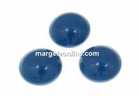 Swarovski, cabochon perla cristal, lapis, 8mm - x2