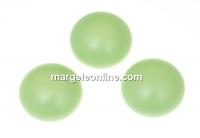 Swarovski, cabochon perla cristal, pastel green, 6mm - x2
