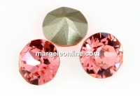 Swarovski, chaton pp12, rose peach, 1.8mm - x20