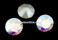 Swarovski, chaton pp21, aurore boreale, 2.7mm - x20