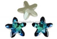 Swarovski, fancy mystic star, bermuda blue, 18mm - x1