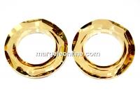 Swarovski, pandantiv cosmic ring, golden shadow, 20mm - x1