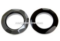 Swarovski, pandantiv cosmic ring, jet hematite, 20mm - x1