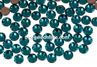 Swarovski, hotfix, ss10, blue zircon, 2.7mm - x20