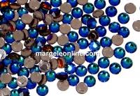 Swarovski, hotfix, ss10, meridian blue, 2.7mm - x20