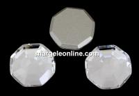 Swarovski, cabochon solaris, crystal, 10mm - x1